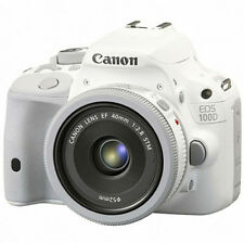 Canon EOS 100D White Camera 18 MP DSLR 40mm STM lens KIT (Kiss x7 Rebel SL1 )