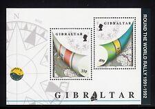 102899/ Gibraltar 1992 - Bl. 17 - Whitebread - Seegelregatta - **