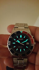 RELOJ SEIKO KINETIC SKA051 PEPSI DIVER IMPECABLE