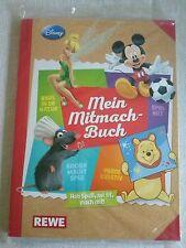 Rewe Disney Mein Mitmach-Buch  Album und alle 180 Sticker zum Einkleben