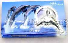 SALE Popular Gift dolphin pendant Wish Pearl Necklace Gift set box-w3622