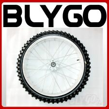 "80/100- 21"" Inch Front Wheel Rim+ Knobby Tyre Tire Trail Dirt Bike Motorcross"