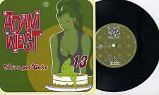 "Adam West - We've Got Cake 7"" PORTUGAL PRESS Turbonegro Hellacopters Gluecifer"