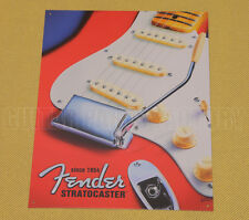 Fender Guitar Electric Strat Stratocaster 1954 Repro Advertising Tin Sign #1766