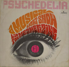 """PSYCHEDELIA - A MUSICAL LIGHT SHOW BY THE MESMERIZING EYE 12"""" LP (X 134)"""