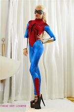 WOMENS LADIES GIRL WOMAN   SEXY SPIDER COSTUME FANCY DRESS PARTY SUPERHERO HERO