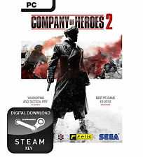 COMPANY OF HEROES 2 PC, MAC AND LINUX STEAM KEY