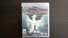 Dragon Age: Inquisition (Sony PlayStation 3, 2014) BRAND NEW SEALED