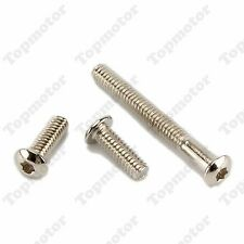 3x Stainless Steel Windshield Trim Torx Bolts For Harley 2014-2016 Touring FLH