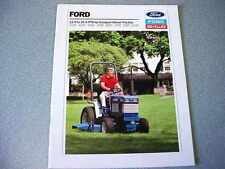 Ford 1120, 1220, 1320, 1520, 1620, 1720, 1920, 2120 Tractor Color Brochure    lw