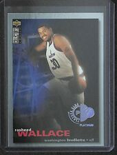 1995-96 Upper Deck Collectors Choice Platinum Players Club #239 Rasheed Wallace