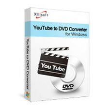 Xilisoft Youtube to DVD Converter, make burn create convert FLV Videos to DVD