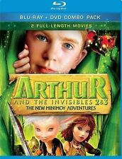Arthur And The Invisibles 2-3 (2011) - Used - Blu-ray