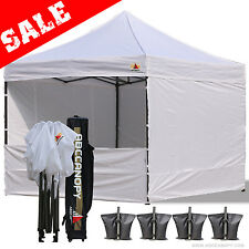 AbcCanopy 3 x 3mtr FULLY WATERPROOF Pop Up Gazebo with Sides and Bag
