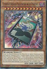 Yu-Gi-Oh! Ultra Raras: Flor Cardian Paulownia con Phoenix-DRL3-EN038 - primera edición