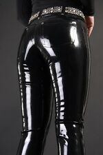 latex Rubber Black Fashion Handsome Pants Tailored Size XS-XXL