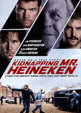 Kidnapping Mr Heineken (DVD, 2015, w/Slipcover) Anthony Hopkins, Free Shipping