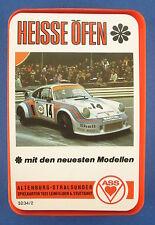 Quartett - HEISSE ÖFEN - ASS - Nr. 3234/2 - von 1974 - Auto - Kartenspiel