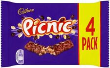Cadbury Picnic (4 x 38g Chocolate Bars) 152g