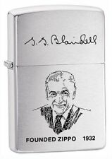 Zippo Windproof George G. Blaisdell Founder's Lighter, 200FL, New In Box