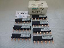 7 Piezas Siemens 3RV1915-1A sin usar en emb. orig.