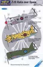 "LF Models Decals 1/48 POLIKARPOV I-16 ""RATA"" OVER SPAIN"