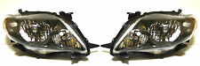 Toyota Corolla USA 09-13 Left Right Front head lamp lights for S/RS model Black