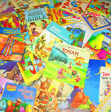 Children's CHRISTIAN/GOD/RELIGION Book Lot FREE SHIPPING -INSTANT COLLECTION