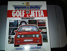 Improve & Modify VW Golf & Jetta Mark 1 & 2 Manual by Haynes Tuning Upgrades etc