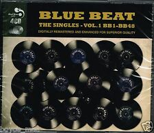 CD : VARIOUS-blue beat, the singles volume 1   (4 CD set) (new & sealed)