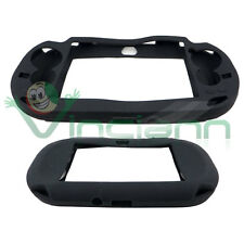 Custodia silicone NERA per Sony playstation PS Vita cover morbida specifica