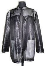 Marc Cain N4 Gr. 40 Microfaser Jacke Damenjacke jacket durchsichtig