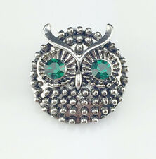 3D Rhinestone Drill Snaps Chunk Charm Button Fit For  Leather Bracelets A2