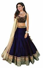 Top Selling Beauty Navy Blue New Designer Lehenga choli for Girls & Women.