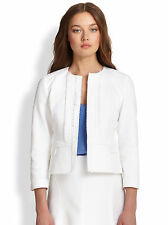 Nanette Lepore Sweet Retreat Embroidered Cotton Fitted Jacket Sz 2 NWD $448
