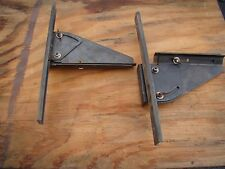 Lot of 2 Craftsman Molding Fence Attachments for Radial Arm Saw