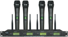 4x100 Channel UHF  Wireless  Handheld Microphone Mic System KS-91A