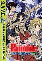 SCHOOL RUMBLE 2 - DVD - Region 1 - Sealed