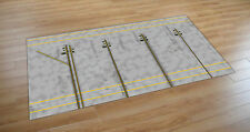 1/200 SCALE MODEL AIRPORT MAT/FOIL 4 NARROWBODY PARKING SLOTS