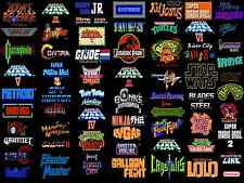 A4 Retro Gaming Poster–Collection of NES Games (XBOX 360 PS3 Wii Nintendo Sega)