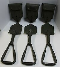 Genuine German BUND Military Issue Trifold Shovel Entrenching Tool GE OFW  KL OD