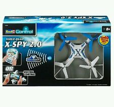 Revell Wi-Fi Quadcopter X-Spy 2.0 Drone Helicopter With Camera And Remote