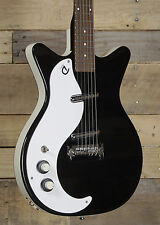 Danelectro Left Handed '59M NOS+ Electric Guitar Black Finish