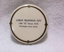 LUBAR TELEVISON CITY - Disc Washer Record  Vinyl Album Cleaner - Vintage - Round
