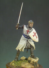 ANDREA MINIATURES SM-F22 - TEMPLAR KNIGHT 1200 A.D. - 54mm WHITE METAL