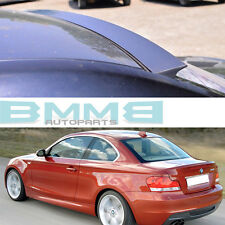 PAINTED BMW 1-SERIES E82 2DR 128i 135i VRS STYLE ROOF WINDOW SPOILER 2013