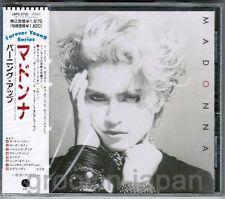 Sealed! MADONNA Madonna(Debut)  JAPAN CD 1989 'Forever Young' w/OBI 18P2-2700