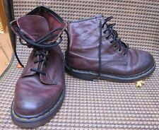 DR DOC MARTENS  Woman's AIR WAIR LEATHER ANKLE BOOT LACE UP~Size 7 in reg shoe