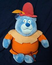 "Vintage 80's Disney Applause Gummi Bears Tummi Plush Stuffed Animal 17"" 1985"