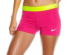 Womens Nike Pro Core Compression Shorts XS Pink Running GYM Fitness RRP£34.99